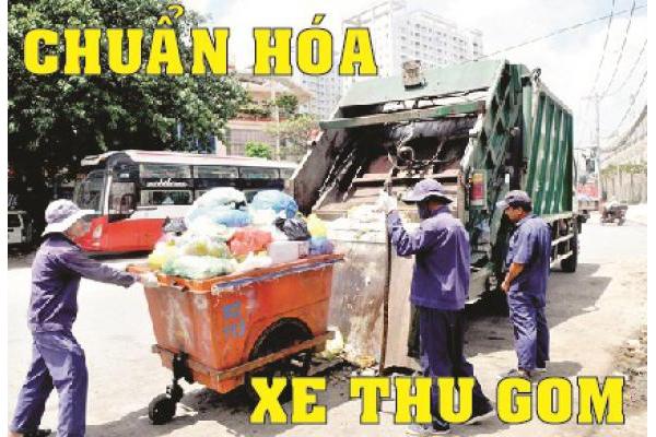Chuẩn hóa xe thu gom rác - Xử lý nghiêm xe tải chở rác không hợp chuẩn