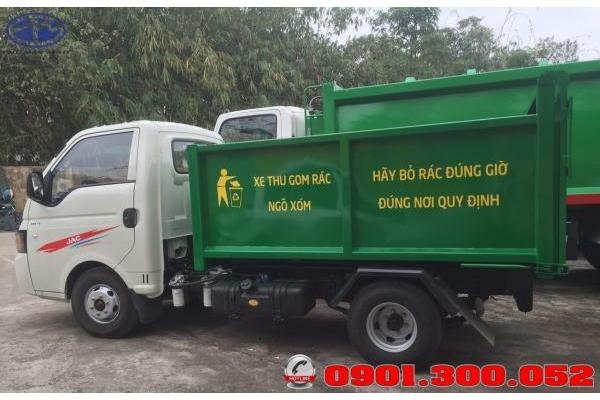 Giá các dòng xe cuốn ép rác 2019 - các dòng xe cuốn ép rác phổ biến