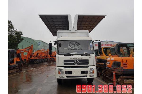Xe tải Dongfeng B180 9 tấn đóng thùng cánh dơi