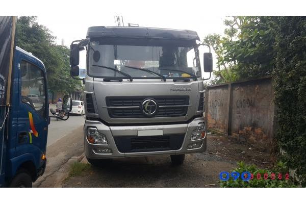 Xe tải Dongfeng Trường Giang gắn cẩu KangLim 10 tấn KS2605