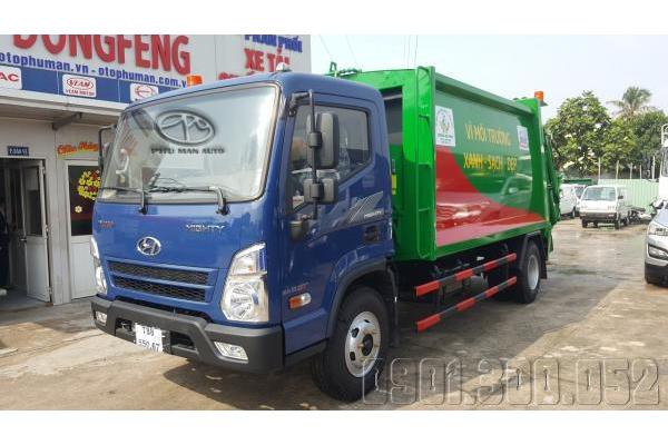 Xe cuốn ép rác 10 Khối Hyundai Mighty EX8 GT 8 tấn