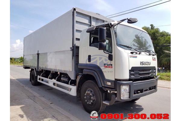 Xe tải Isuzu FVR34SE4 8 tấn thùng cánh dơi
