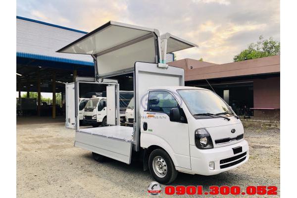 Xe tải Thaco Frontier K200 thùng cánh dơi