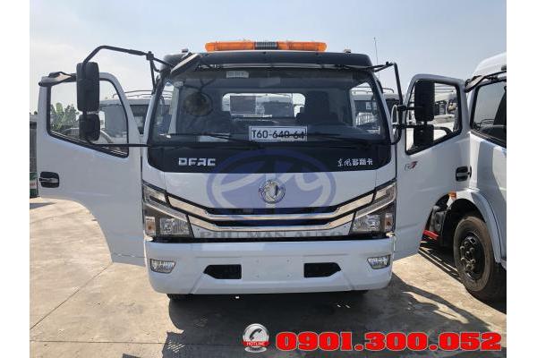 Xe cứu hộ sàn trượt Dongfeng 3.5 tấn
