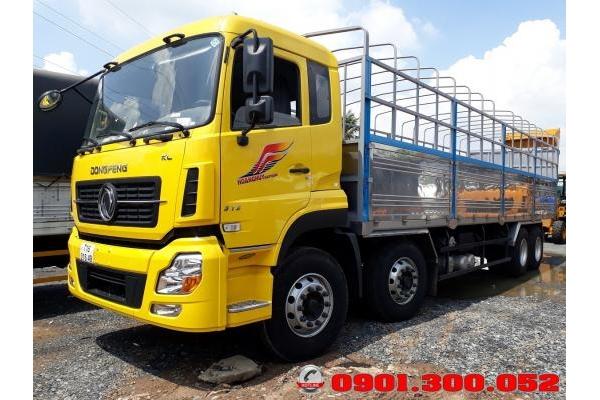 Xe tải Dongfeng 4 chân Hoàng Huy YC310 17.9 Tấn/ 17t9