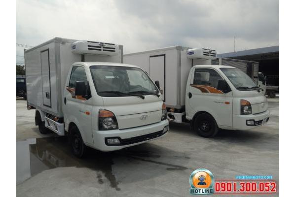 Xe Tải Hyundai Porter H150 1.5 tấn thùng đông lạnh