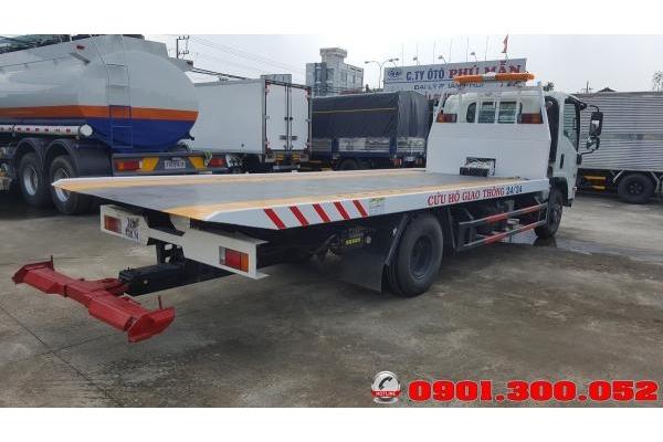 Xe cứu hộ sàn trượt Isuzu NQR75LE4 5.5 tấn