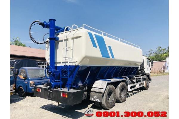 Xe xitec bồn chở thức ăn IsuzuFVM34T 15 tấn