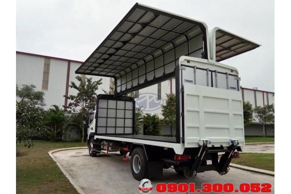 Xe tải Thaco Auman C160 thùng cánh dơi