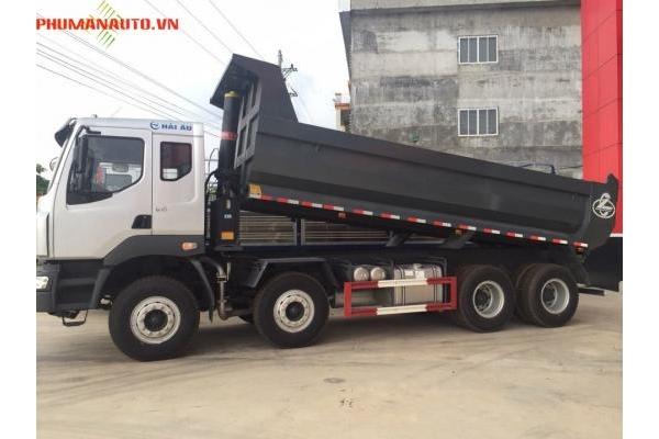 Xe Ben Chenglong 4 Chân 310HP cầu láp