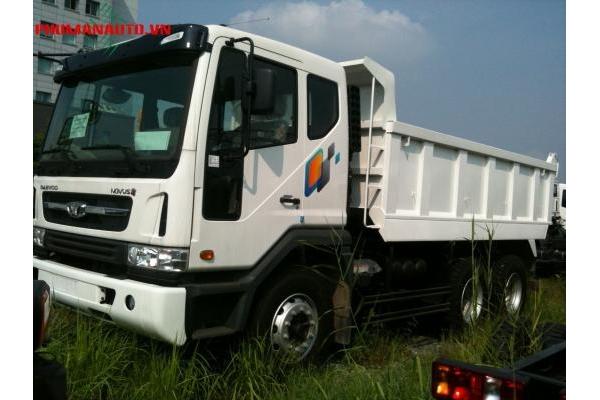 Xe tải Ben Daewoo 3 Chân 15 tấn 10 khối