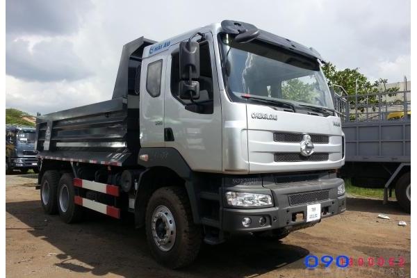 Xe Ben Chenglong 3 chân 13 tấn 260HP