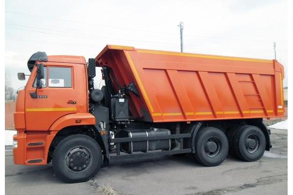 Xe Ben Kamaz 15 tấn 3 chân 65115 (6x4)