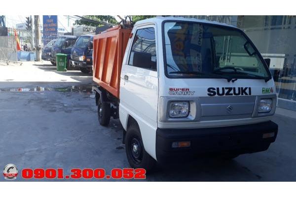 Xe ben chở rác mini Suzuki 500 kg