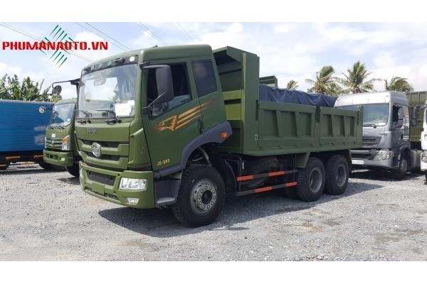 Xe tải Ben 3 Chân Faw 13,6 tấn