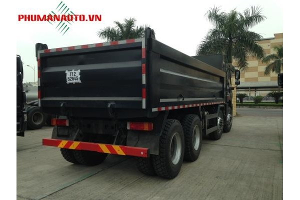 Xe tải ben FAW 4 chân 17 tấn 340HP