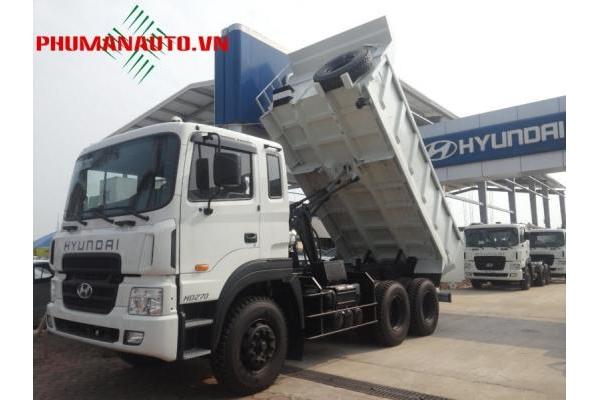Xe tải ben tự đổ Hyundai HD270 15 Tấn