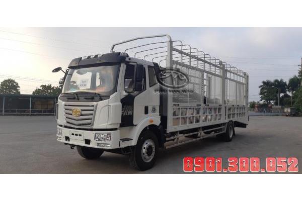 Xe lồng chở ô tô 2 tầng Faw 7 tấn thùng 9.8 mét