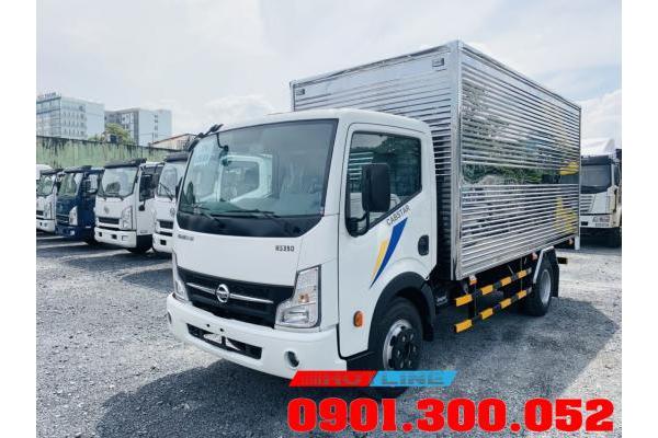 Xe tải Nissan Đồng Vàng Vinamotor Cabstar  NS200 1.9 tấn - NS350 3.5 tấn thùng 4m3