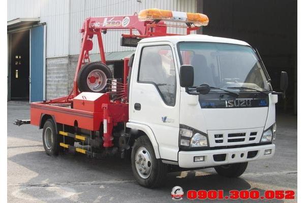 Xe Isuzu 3.5 tấn cẩu kéo cứu hộ giao thông